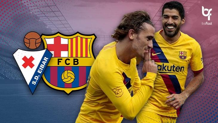"""Eibar 0-3 Barcelone : un match référence pour la """"MSG"""" ?"""