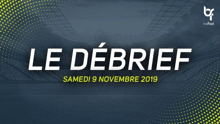 Le débrief du Multi-Ligue 1 (Samedi 09/11)