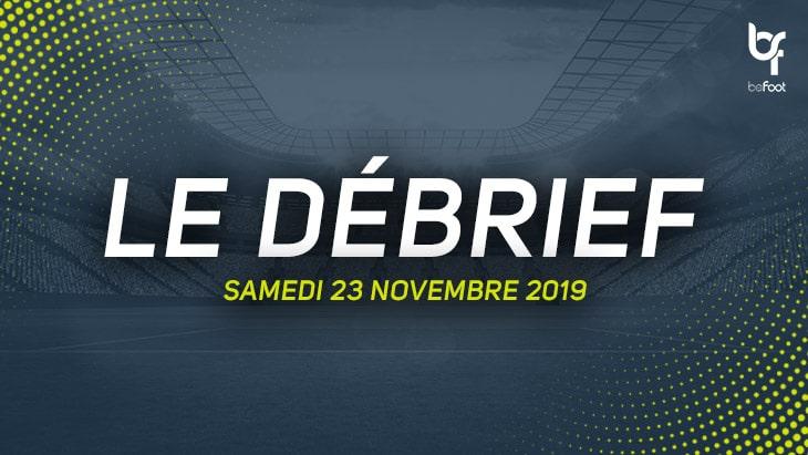 Le débrief du Multi-Ligue 1 (Samedi 23/11)
