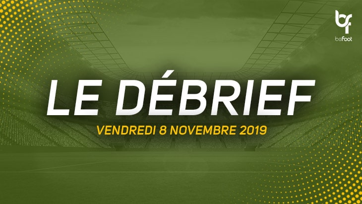 Le débrief du Multi-Ligue 2 (Vendredi 08/11)