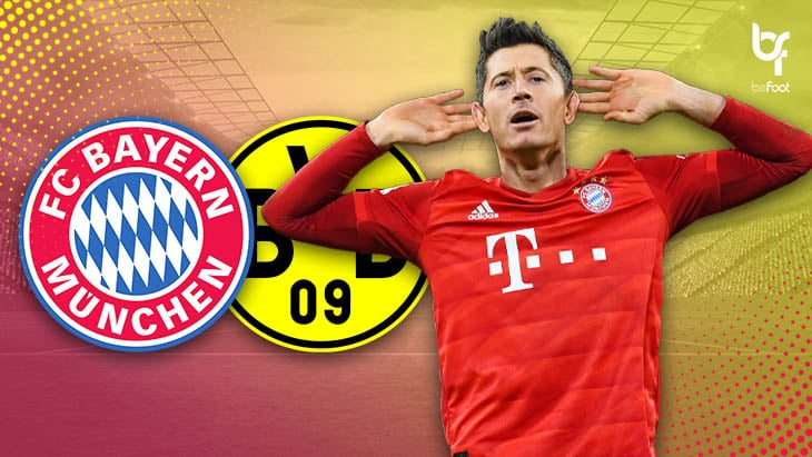 Bayern 4-0 Dortmund : Les bavarois claquent le BVB