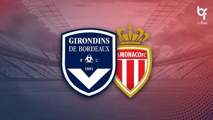 Bordeaux 2-1 Monaco : Les monégasques voyagent mal