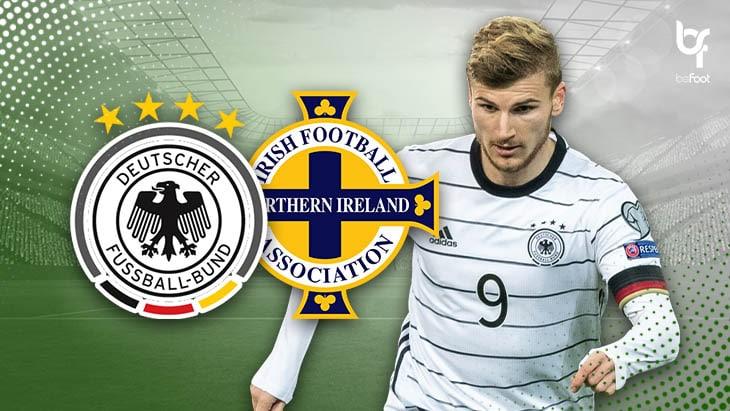 Allemagne 6-1 Irlande du Nord : La Mannschaft impitoyable !