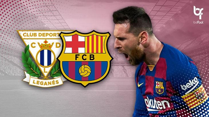 Leganés 1-2 Barcelone : Le Barça assure seulement les 3 points.