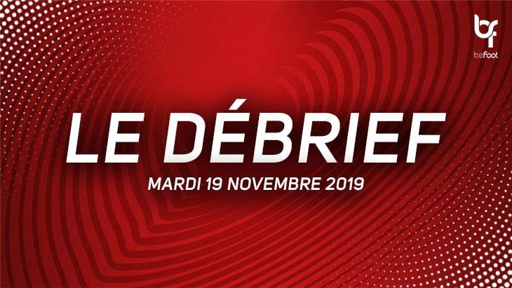 Qualifications Euro 2020 : Le débrief du jour (Mardi 19/11)