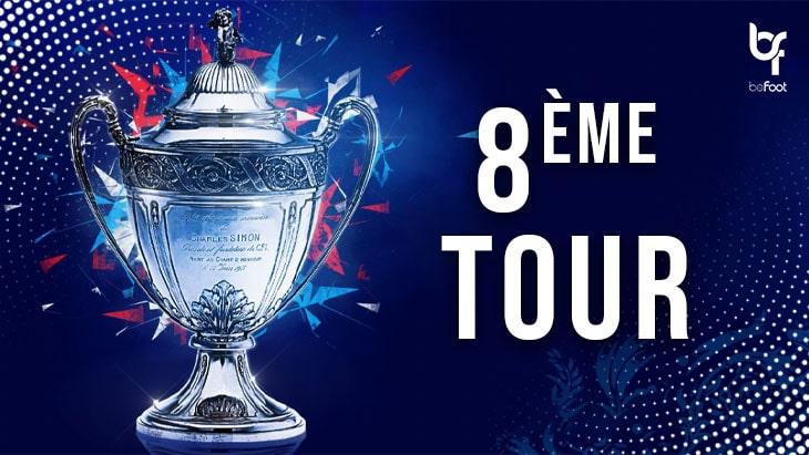 Coupe de France (8ème Tour):  Les résultats des clubs de Ligue 2
