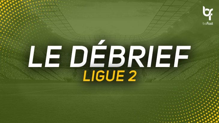 Ligue 2 : Une 19ème journée au couleur des fêtes