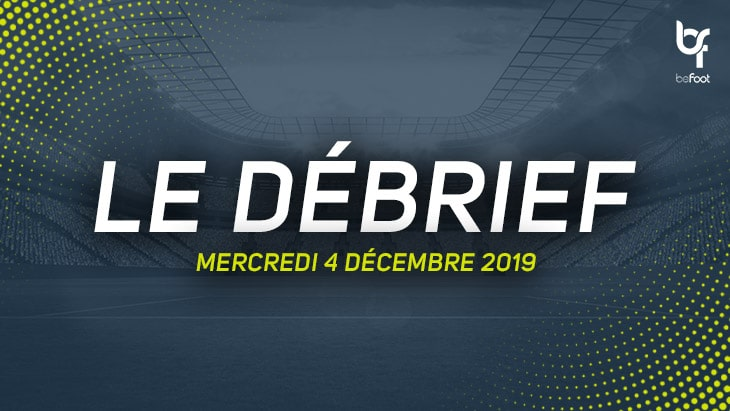 Le débrief du Multi-Ligue 1 (Mercredi 04/12)