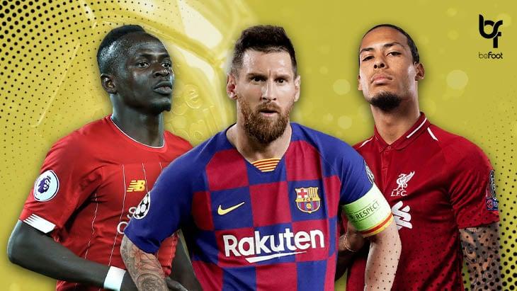 Ballon d'Or : 3 noms pour un trophée