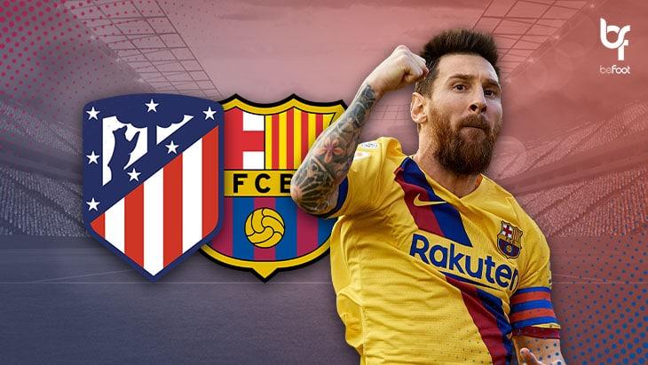 Atlético 0-1 Barcelone : Messi achève les Colchoneros