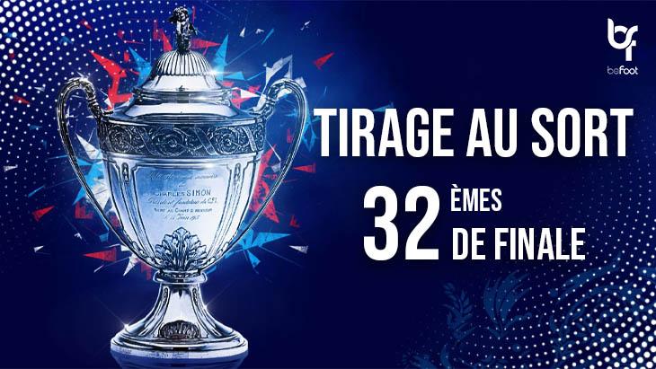 Coupe de France (32èmes) : Le tirage des clubs de Ligue 1
