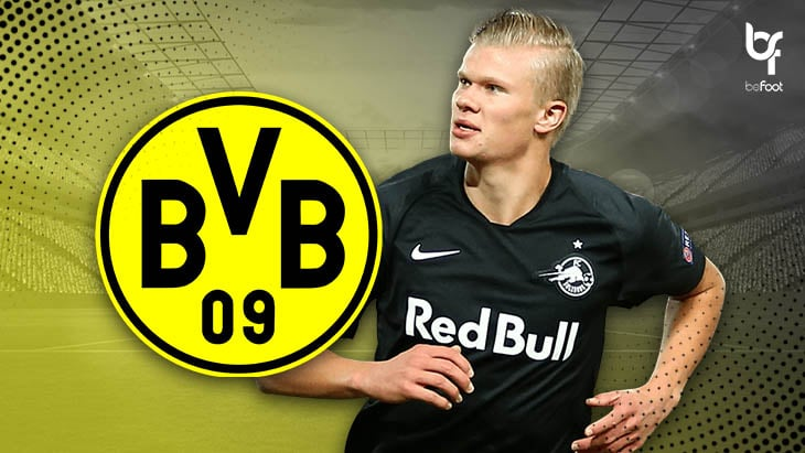 La pépite Haaland officiellement au Borussia Dortmund !