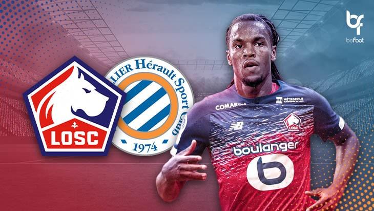Lille 2-1 Montpellier : Les dogues s'accrochent au podium