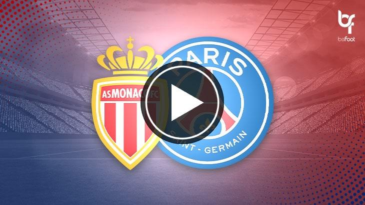 [VIDÉO] Monaco 1-4 PSG : Le résumé du match