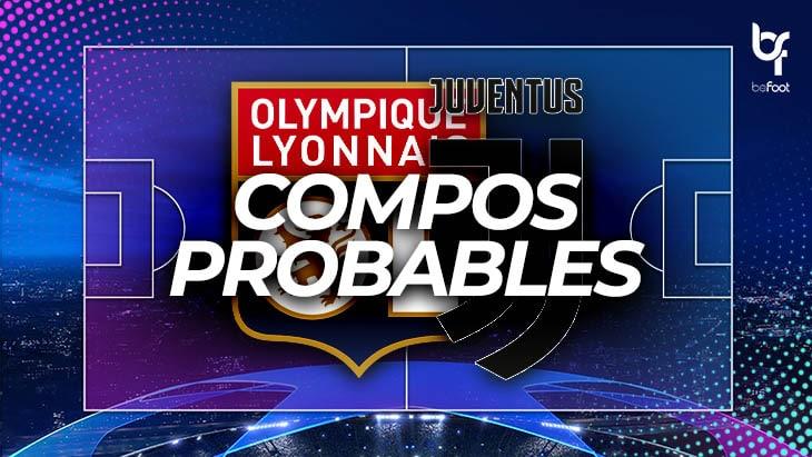 OL – Juventus : Les compos probables !