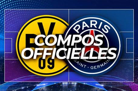 BVB – PSG : Les compos officielles !