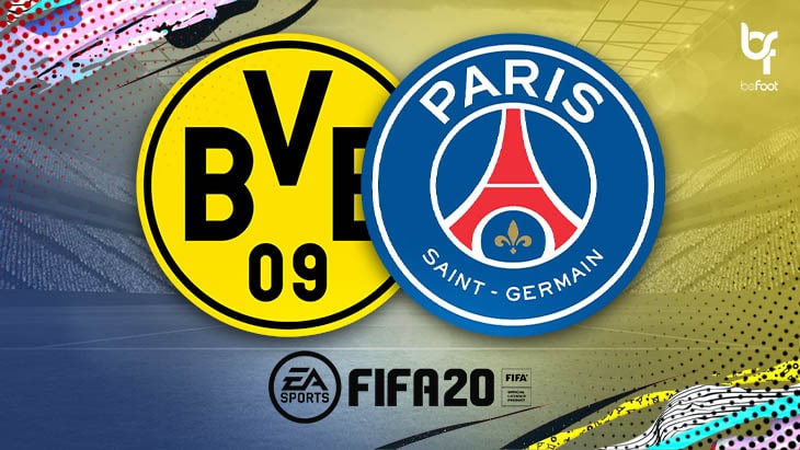 BVB – PSG : On a simulé le match sur FIFA !