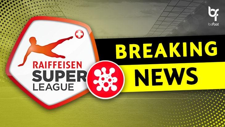 OFFICIEL : Le championnat suisse est suspendu !
