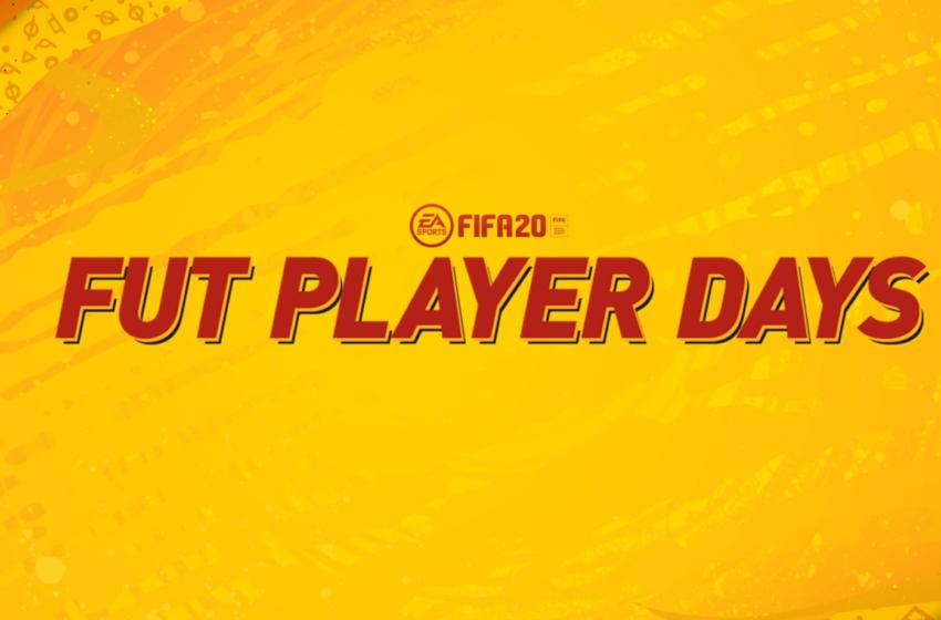 """FUT 20 : L'événement """"Player Days"""""""