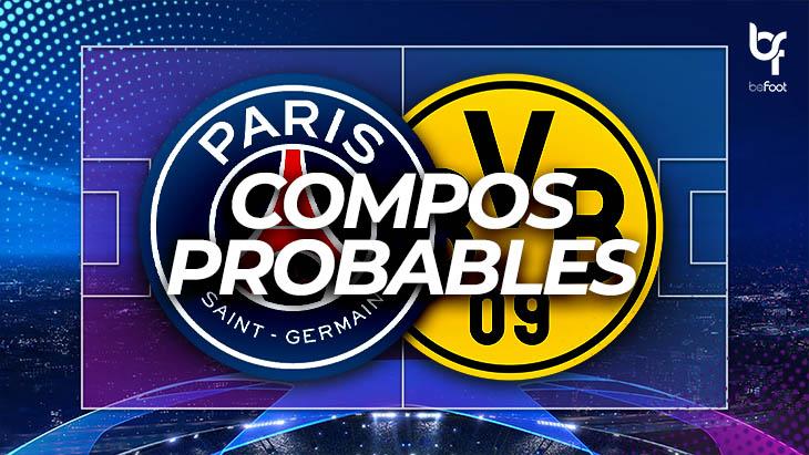 PSG – Dortmund : Les composition probables !