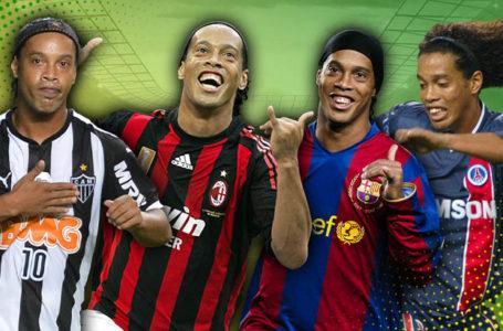 Il était une fois : Ronaldinho, avec le sourire