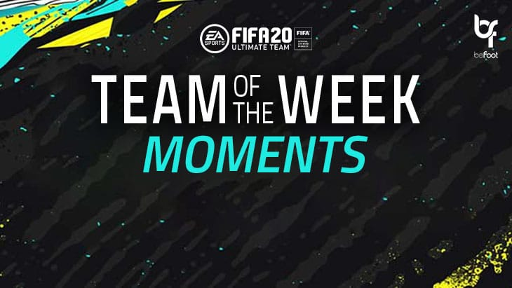 FUT20 : La TOTW Moments n°4 est sortie !