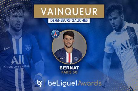#BL1A : Bernat (PSG) élu arrière gauche de la saison !