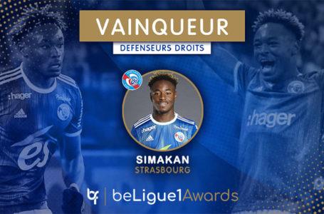 #BL1A : Simakan (Strasbourg) élu arrière droit de la saison !