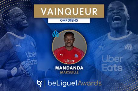 #BL1A : Mandanda (OM) élu gardien de la saison !