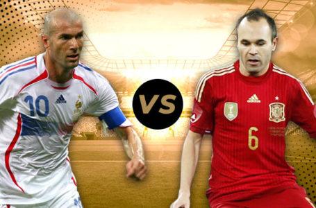«Lequel est le meilleur ?» Zidane vs Iniesta