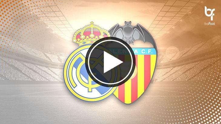 [VIDÉO] Real 3-0 Valence : En toute maîtrise