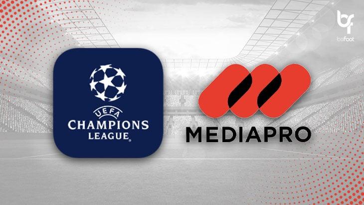 Mediapro obtient la Ligue des Champions