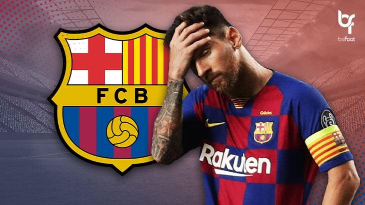 Pourquoi Messi veut quitter le FC Barcelone ?