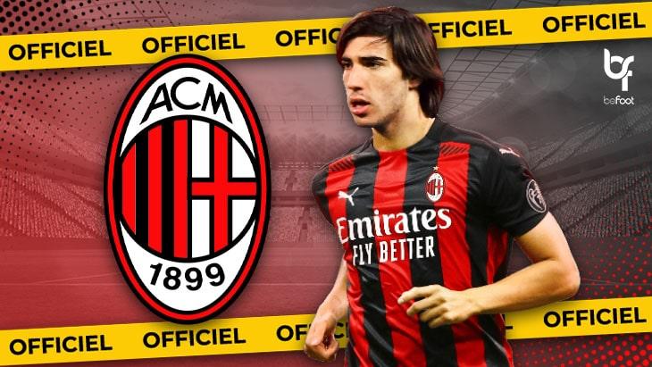 OFFICIEL : Tonali signe à l'AC Milan