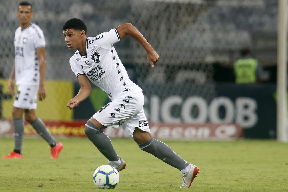 Luis Henrique a joué son premier match en professionnel le 4 décembre dernier. (Photo : Globo Esporte)