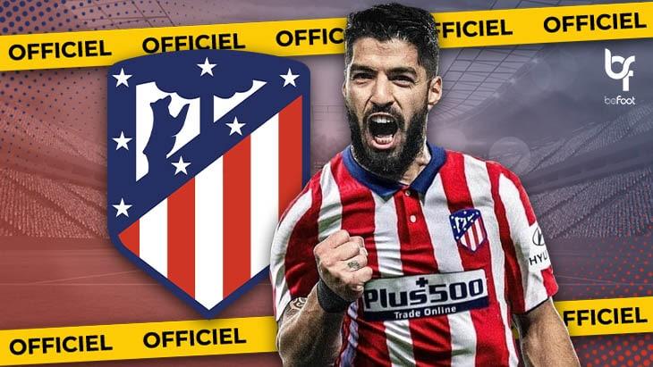 OFFICIEL Luis Suarez Barcelone Signe L Atl tico Madrid BeFoot