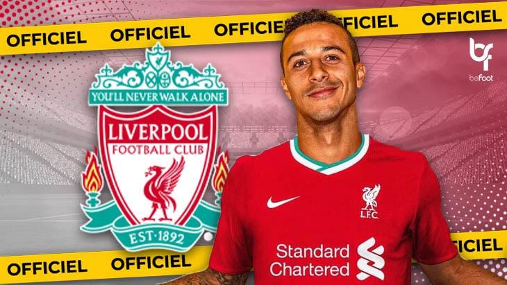 OFFICIEL : Thiago Alcantara (Bayern Munich) signe à Liverpool !