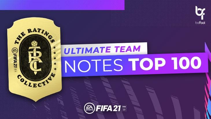 FUT 21 : Les notes du TOP 100 dévoilées !