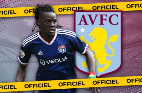 OFFICIEL : Bertrand Traoré (OL) signe à Aston Villa