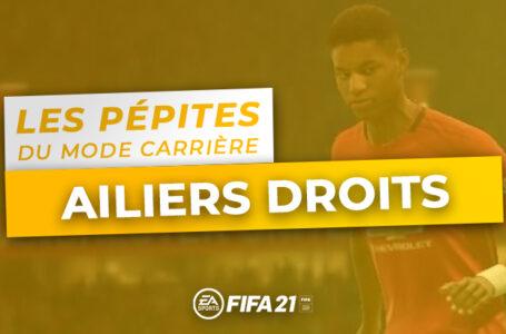 FIFA 21 – Les pépites du Mode Carrière : Les Ailiers Droits