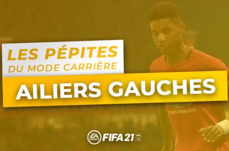 FIFA 21 – Les pépites du Mode Carrière : Les Ailiers Gauches