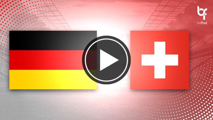 [VIDÉO] Allemagne 3-3 Suisse : L'Allemagne arrache le nul !