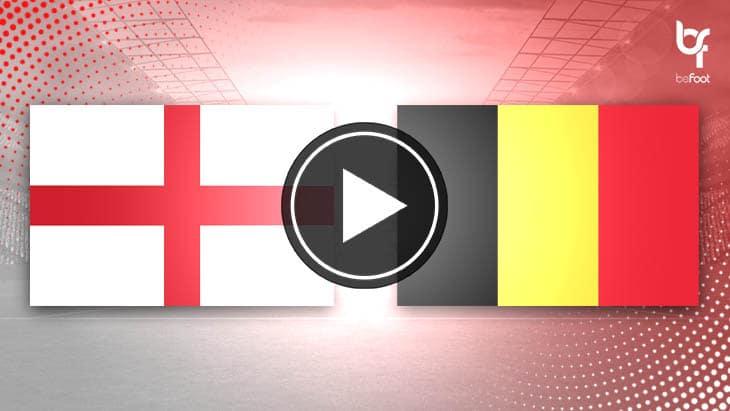 [VIDÉO] Angleterre 2-1 Belgique
