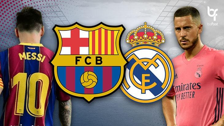 FC Barcelone – Real Madrid : Un Clasico moins savoureux ?