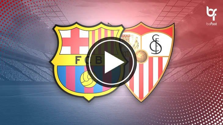 [VIDÉO] FC Barcelone 1-1 FC Séville : Coup d'arrêt pour le Barça !