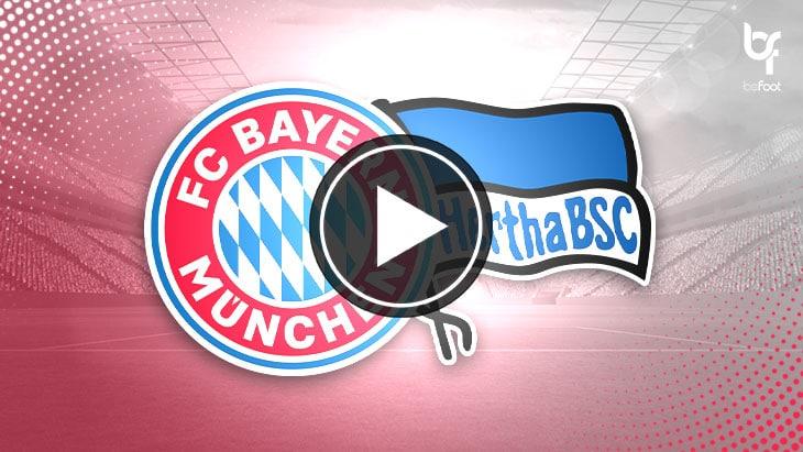 [VIDÉO] Bayern Munich 4-3 Hertha Berlin : Un Lewandowski héroïque