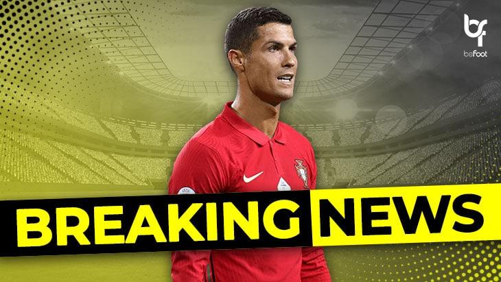 BREAKING ! Cristiano Ronaldo positif au COVID !