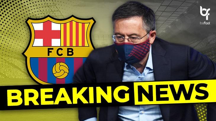🚨 OFFICIEL – FC Barcelone : Bartomeu et sa direction démissionnent !