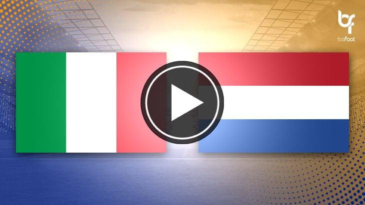 [VIDÉO] Italie 1-1 Pays-Bas : Un match nul mais engagé