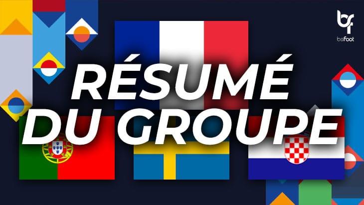 Ligue des Nations : Une finale Portugal – France pour la tête du Groupe C